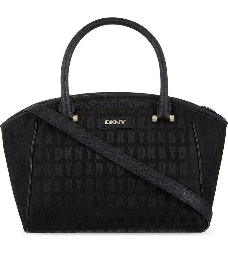 DKNY HQ small satchel (Black/black