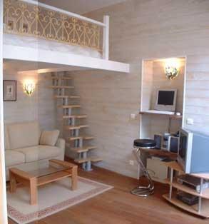 one of a few mezzanine bed ideas