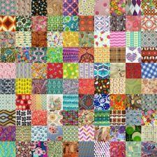 Vintage fabrics I   (400) (400 pieces)