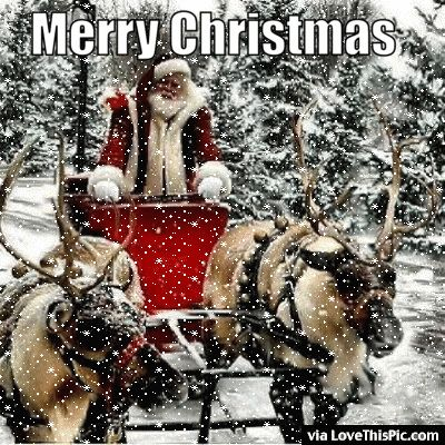 Merry Christmas Gif Quote With Santa And Snow Christmas Merry Christmas  Christmas Gifs Christmas Quotes Seasons