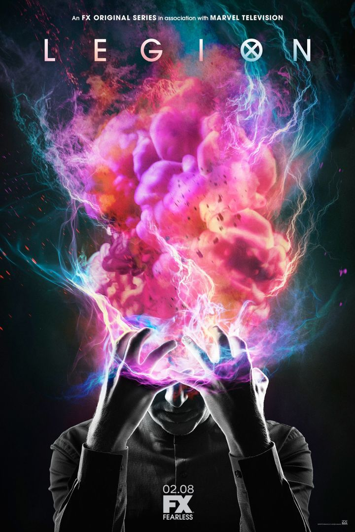 Legion: FX Reveals the Poster for Marvel / X-Men Series FX has released the official poster for its upcoming X-Men series Legion. The art was revealed in a post on the show's official Facebook page and provides a stunning look at the explosive mind ofDan Stevens' David Haller. Continue reading https://www.youtube.com/user/ScottDogGaming @scottdoggaming