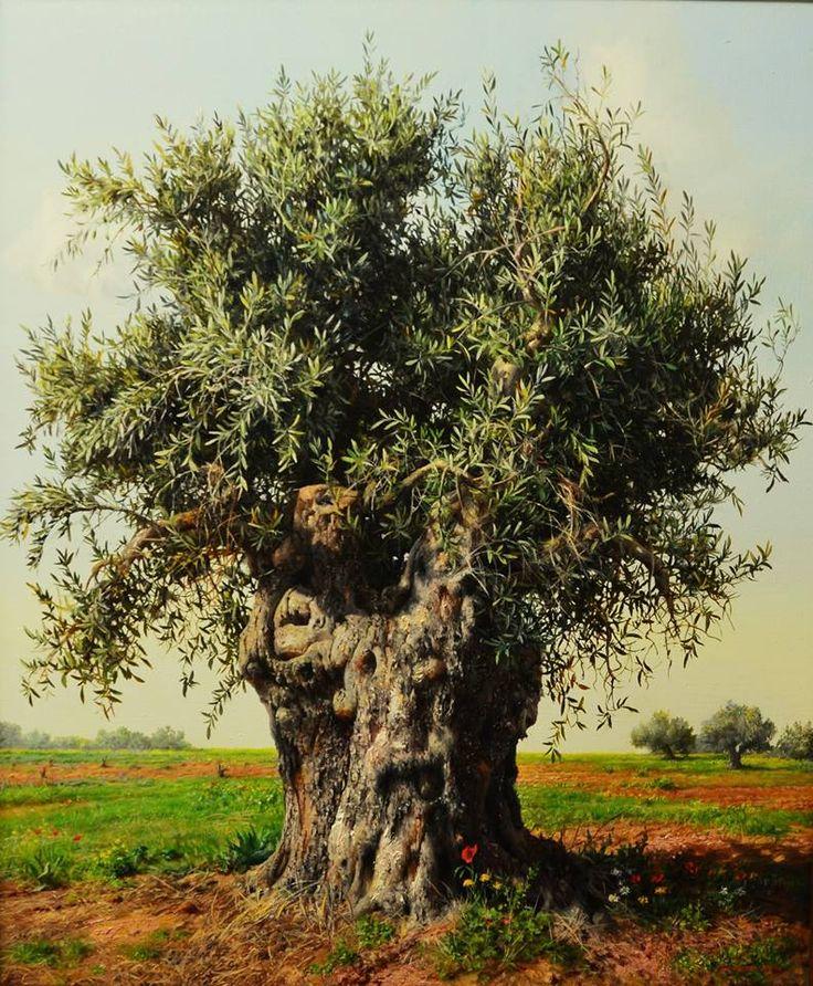 Olive Tree by Albanian born Greek artist Elidon Hoxha ...