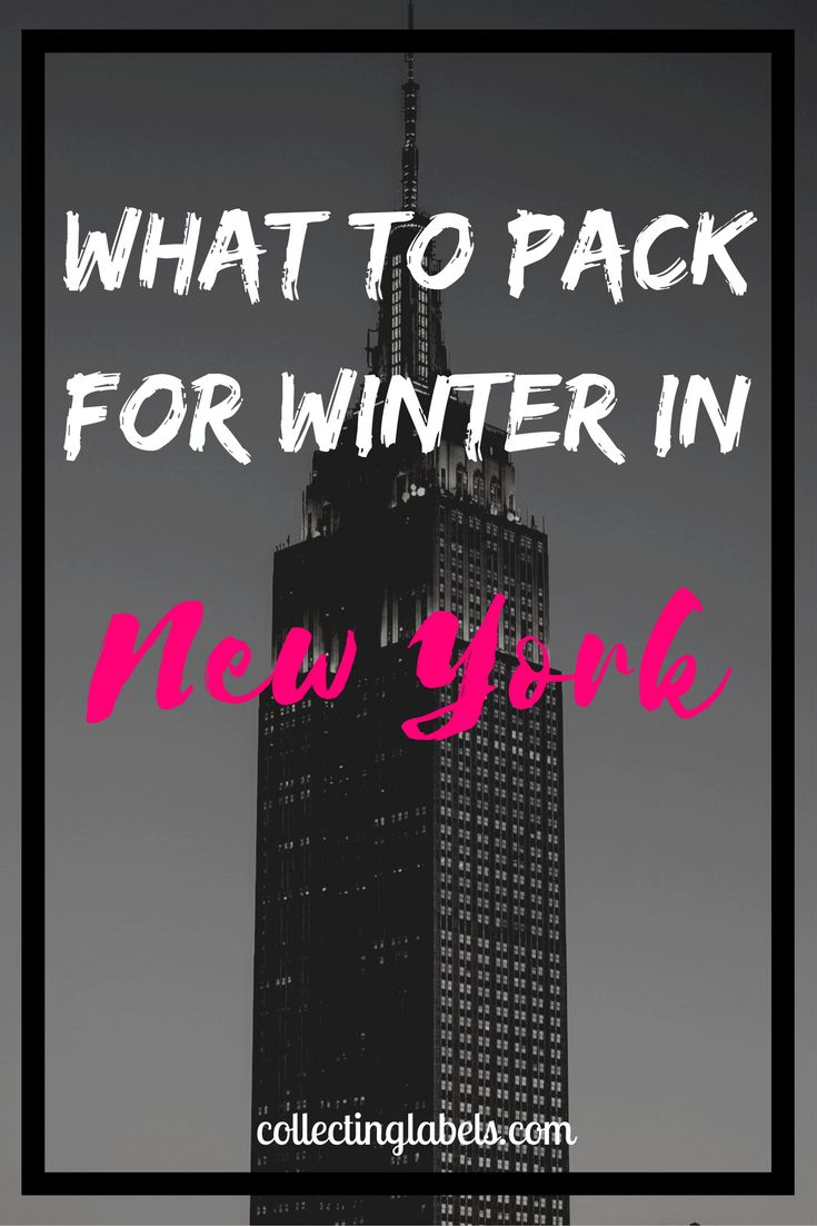 What to pack for winter in New York City   The best pieces for the globetrotting fashionista - Collecting Labels