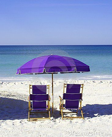 my next purchase!!  purple beach chairs And umbrella