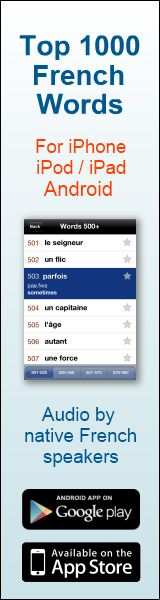 Most common French words