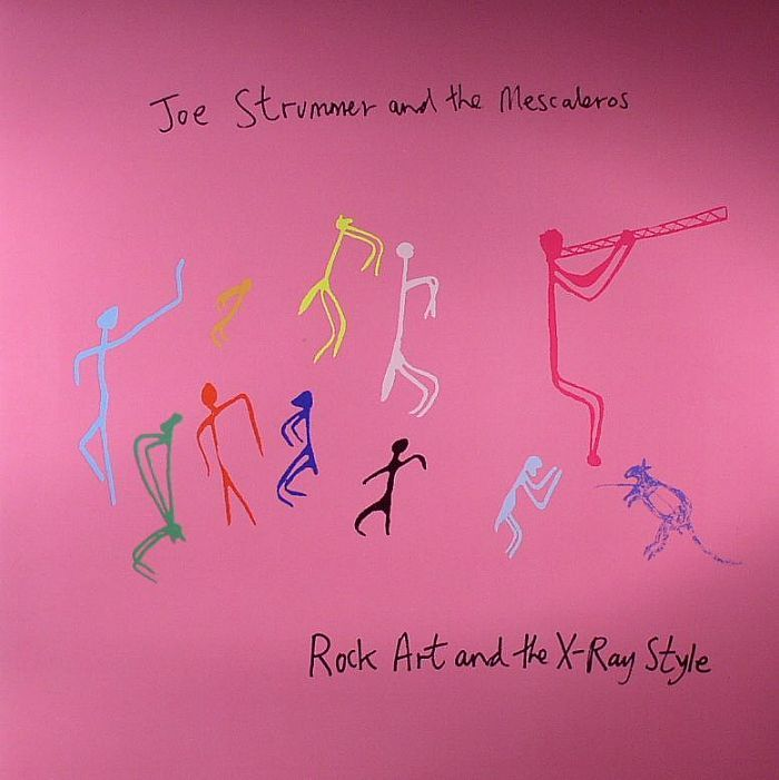 Joe Strummer and Mescaleros cover by Damien Hirst