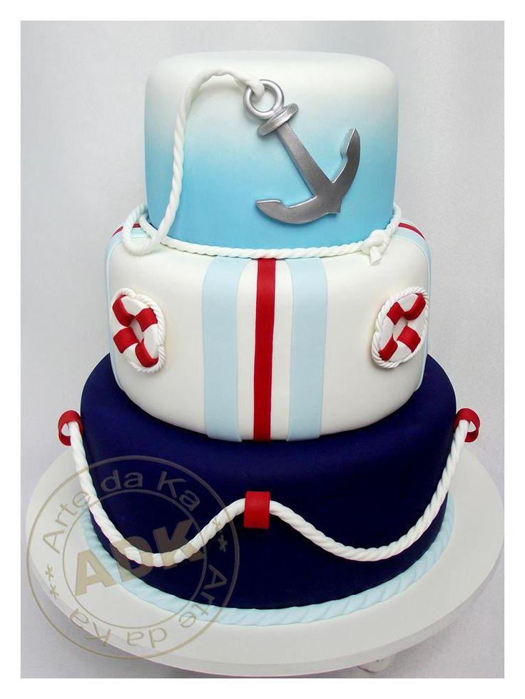 Wonderful Nautical Cake I Love Auctions