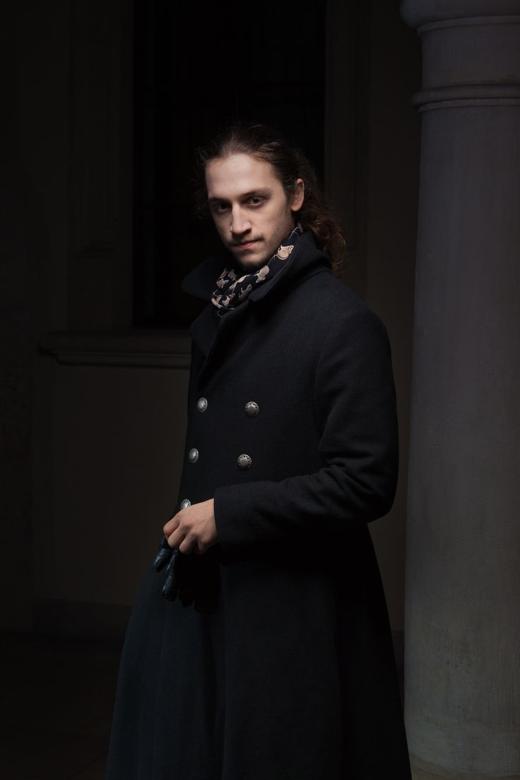 Coat and with mice neckerchief :)