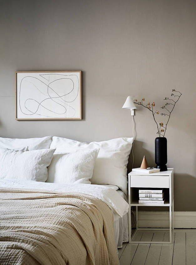Stylish Home In Beige Zuhause Wohnen Und Wohn Schlafzimmer
