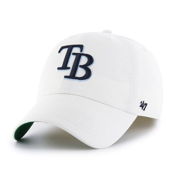 be00b3f0e20 ... wholesale mens tampa bay rays 47 white mlb franchise fitted hat your  price b9140 e7a1d