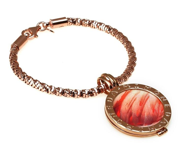 Mi Moneda Medium Flamenco Flurry Complete Rose Gold Plated Bracelet £231.50