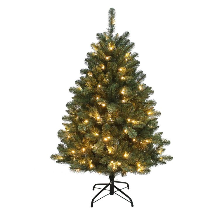Kurt Adler 4.5 ft. Northwood Pine Pre-Lit LED Christmas Tree - TR2360LED