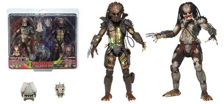 Soon: Toys 'R' Us Exclusive Battle Damaged Predators 2-Pack | NECAOnline.com