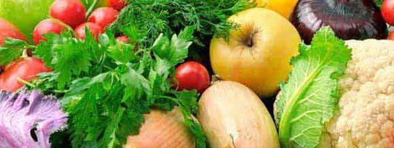 Tabla de calorías para verduras y ensaladas -