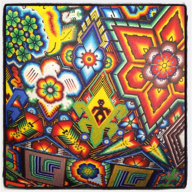 Huichol Art Mexico Patterns Textures And Colors