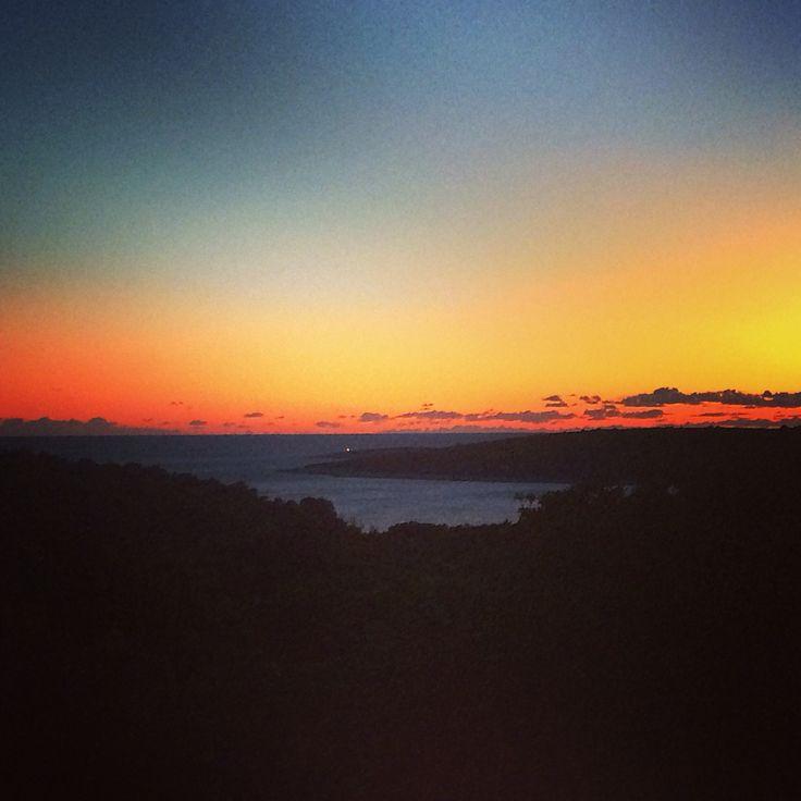 Sunset in Veli Losinj, Croatia