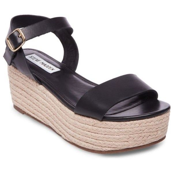 4da0b4105b9 Steve Madden Busy Platform Espadrille ( 89) ❤ liked on Polyvore featuring  shoes