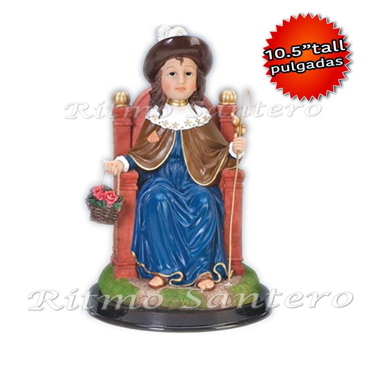 "Holy Infant of Atocha 10.5"" inch Statue-Estatua NINO DE ATOCHA Child Jesus Sculp"