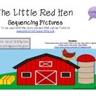 Little Red Hen Sequencing Picture Cards!