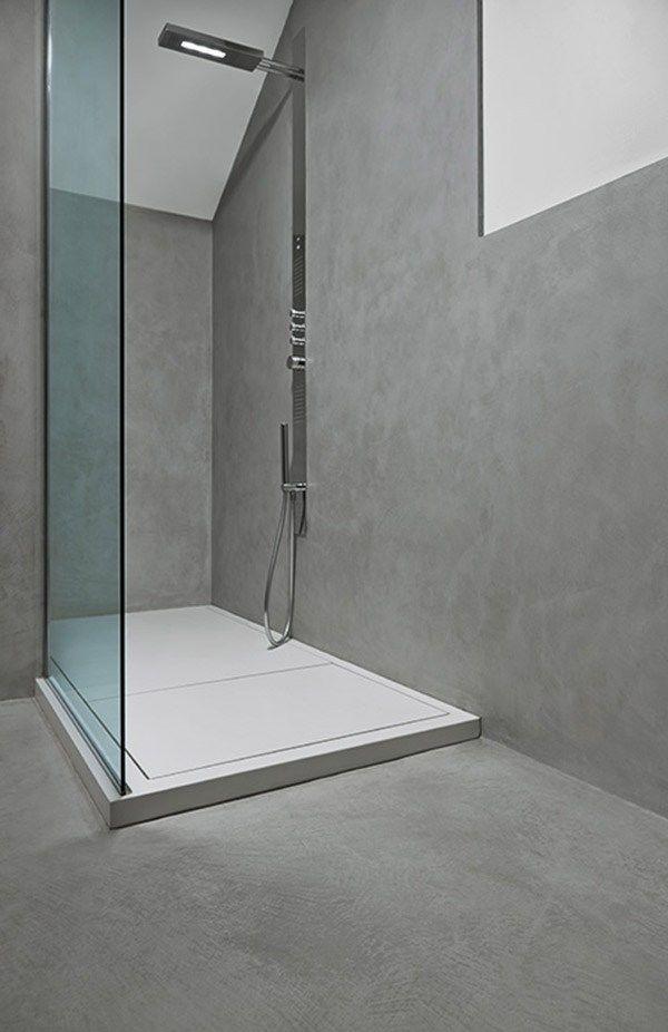 Oltre 25 fantastiche idee su bagno di cemento su pinterest - Doccia con tubi esterni ...