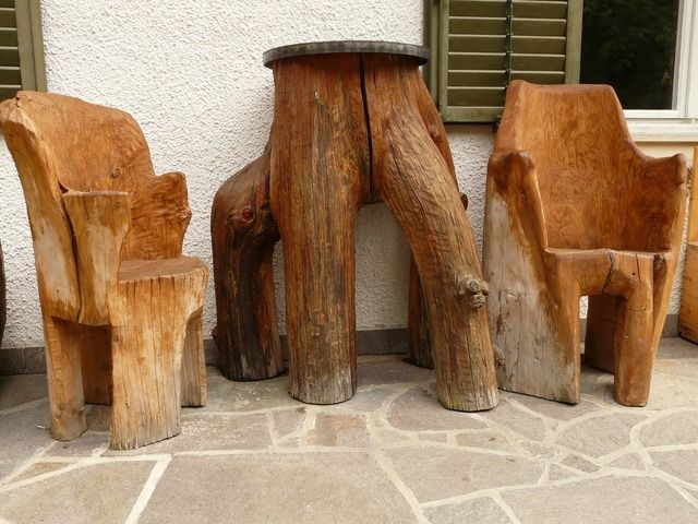 475 best rustic outdoor furniture images on Pinterest