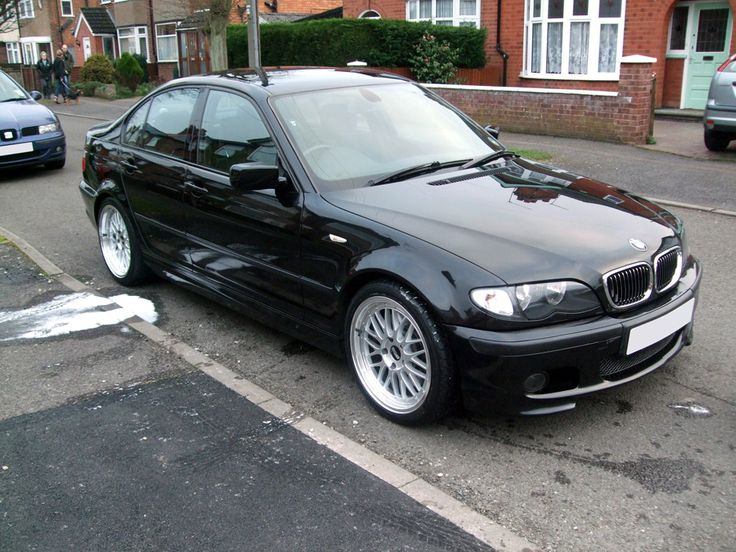E46 Sedan BBS | Once on the car, I gave it a quick clean, with the wheels covered over ...