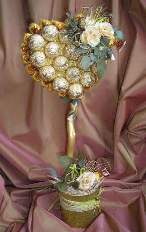 Gallery.ru / Фото #45 - Свадебные букеты из конфет - monier