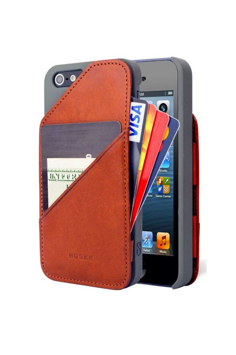 Leather Card Case Holder, $59.00; Amazon.
