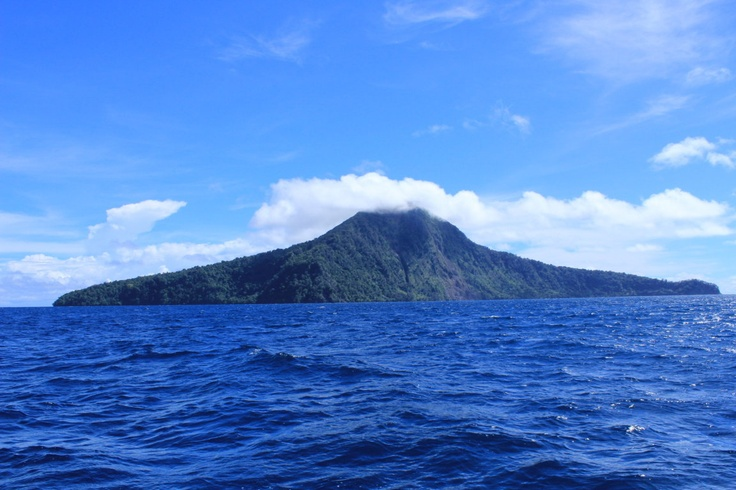 Mother of Krakatau, Indonesia
