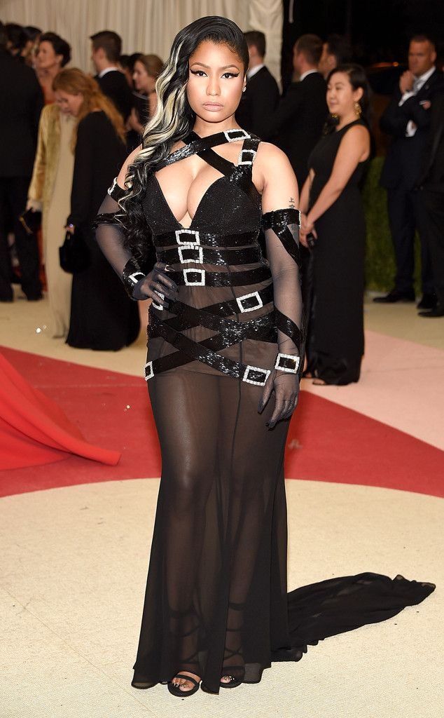 Well hello, Nicki Minaj! The Super Bass artist arrived at the 2016 Met Gala true to form, this ...