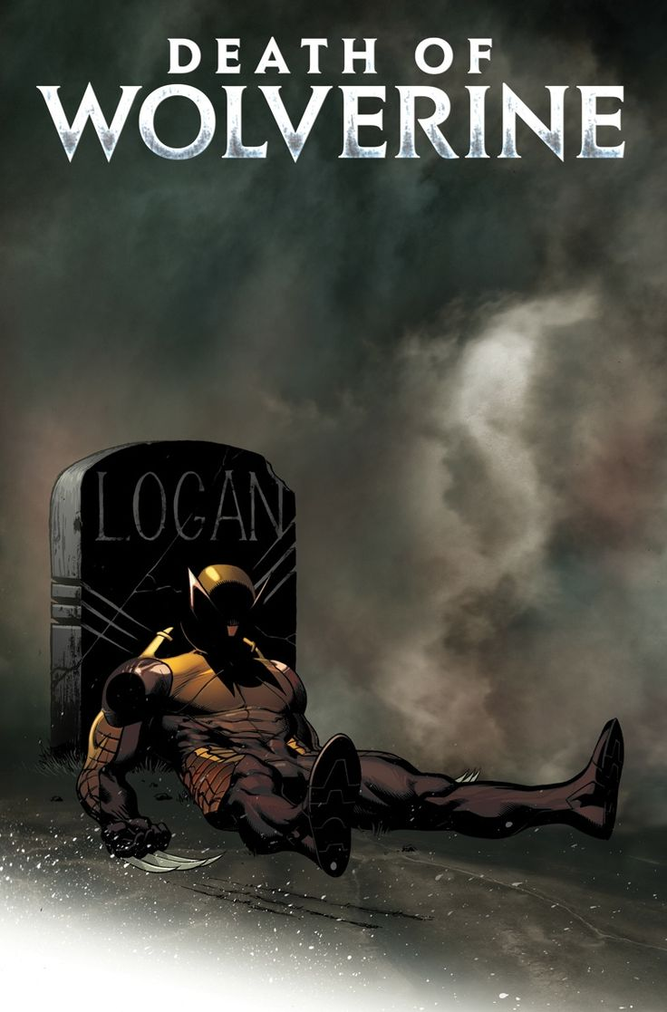Death of Wolverine #1 Cover by Ed McGuinness