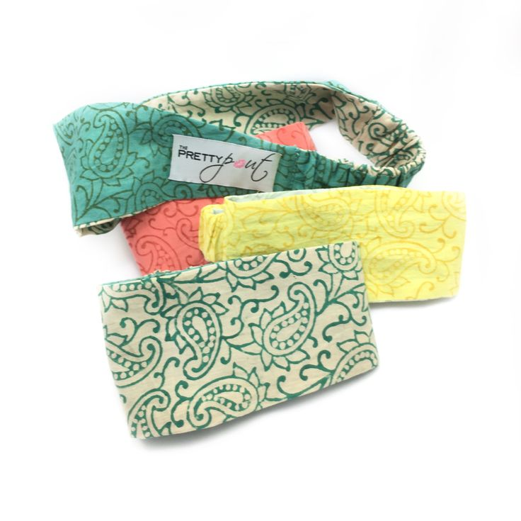 The PrettyPout's headbands are the perfect addition to your skin care routine. #theprettypout