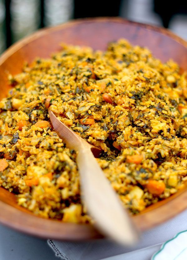 Great Tunisian Spinach Rice Recipe   Kitchen Vignettes   PBS Food, ,