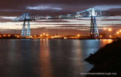 Transporter Bridge, Middlesbrough, England, Home