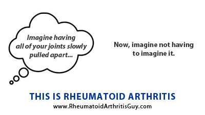 Learn more at www.rheumatoidarthritisguy.com