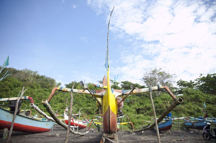 At Pantai Grajagan, Banyuwangi, East Java, Indonesia