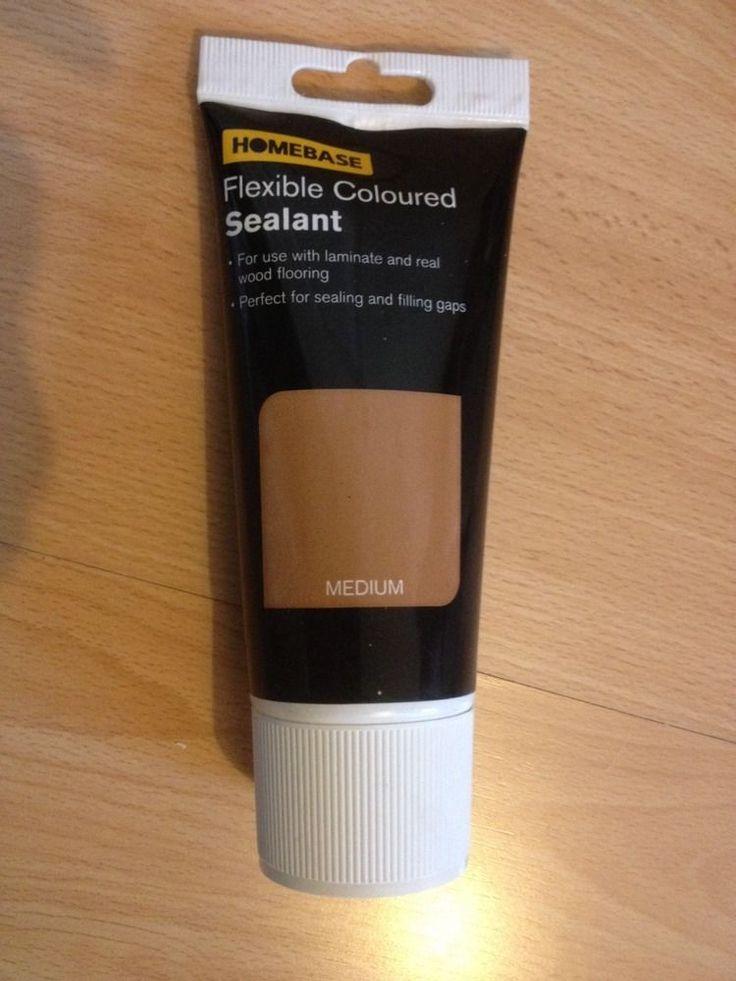 3 Homebase Medium Brown Laminate Wood Colour Sealant Joint