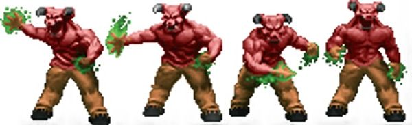 Hell Knights - Barons of Hell - Doom video game monster