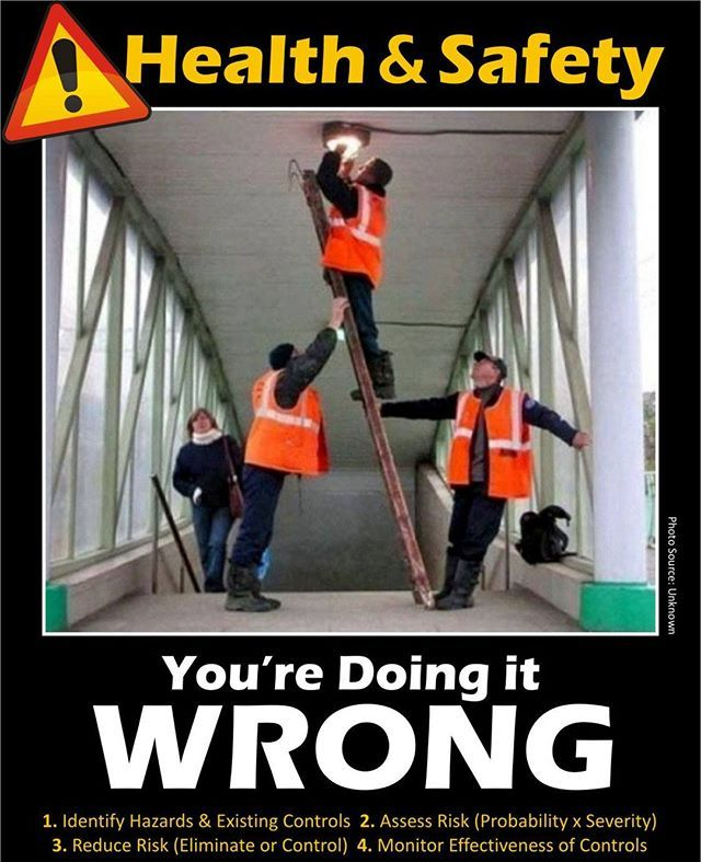 Don T Do It Wrong Follow Eversafeacademy Eversafeacademy Safetyfirst Safetyofficer Health And Safety Safety Posters Occupational Health And Safety