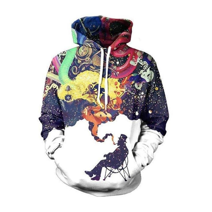 Funky Space Hoodie  3D Printed Clothing/Accessories. FREE Shipping Worldwide!