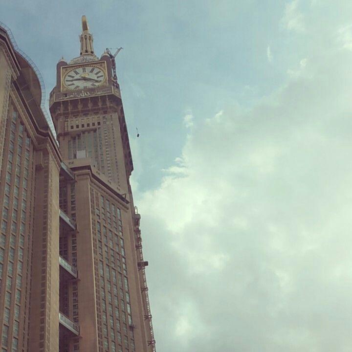 #Makkah #clock ♥