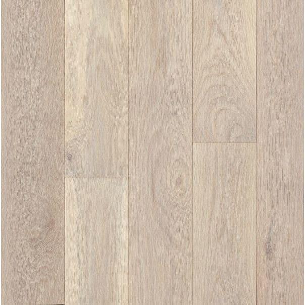 "Bruce Flooring Turlington Signature Series 3"" Engineered Northern White Oak Hardwood Flooring in Antiqued White - $4.86/sq ft"