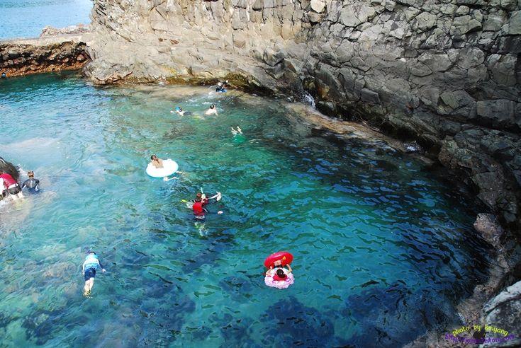 아는 사람만 찾아가는 제주도 천연수영장, 황우지 :: 내가 숨 쉬는 공간의 아름다움
