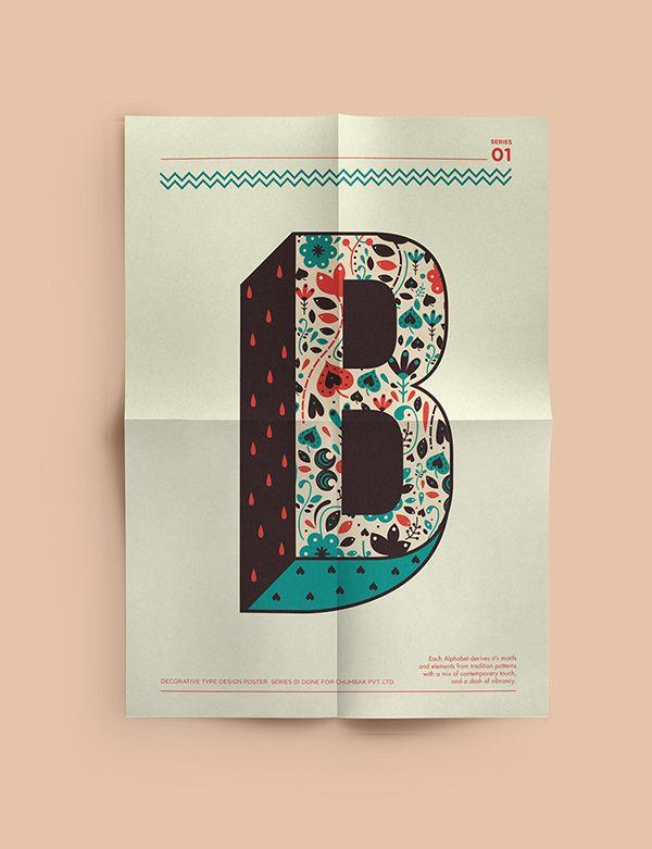 Decorative Type on Behance