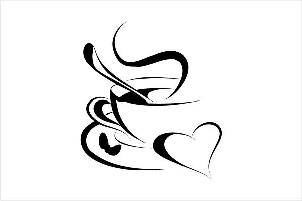 Coffee Tattoo Designs | Pin Coffee Klatsch Wandtattoo Franba Design