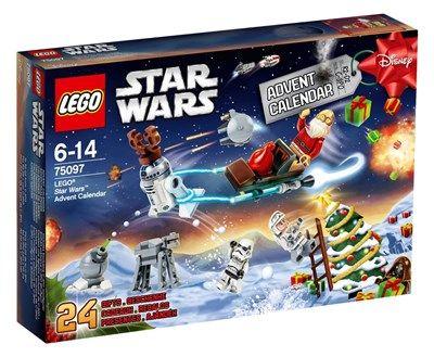 calendrier de lavent de lego star wars rf 75097 moins cher en ligne