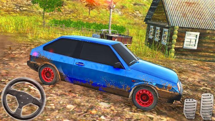Russian Car Driver Hd Simulator New Blue Car Android Gameplay Car And Driver Blue Car Car
