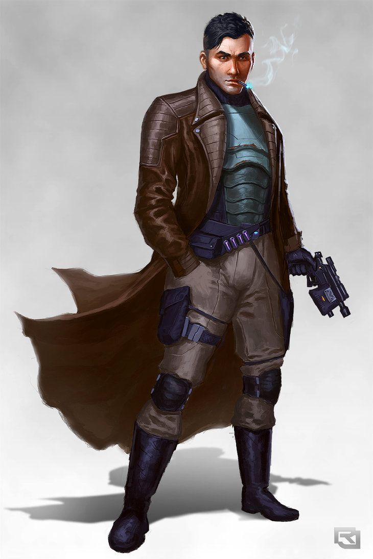Smuggler concept by Rob-Joseph   Characters: Modern / Sci