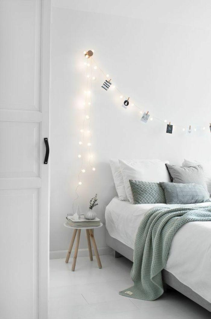 1001 id es pour une guirlande lumineuse pour chambre d co chambre cocoon rest diy. Black Bedroom Furniture Sets. Home Design Ideas