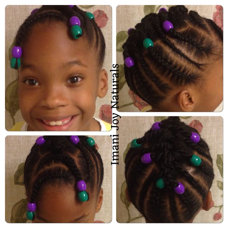 Natural Hairstyles For Black Teenage Girl